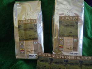 The Face of Inca Certified Organic Fair Trade Coffee